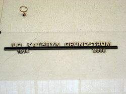 Ilo Kathryn <i>Putman</i> Grundstrom