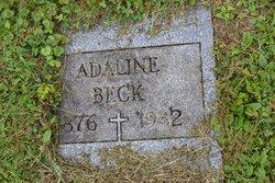 Adaline B. <i>Renninger</i> Beck