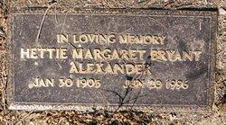 Hettie Margaret <i>Bryant</i> Alexander
