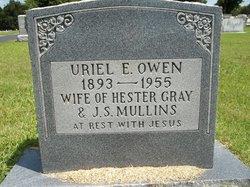 Uriel E. <i>Owen</i> Gray-Mullins