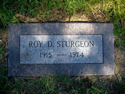 Roy D Sturgeon