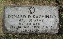 Fr Leonard D. Kachinsky