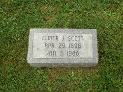 Elmer J Scott,