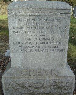 James Donald Creyk