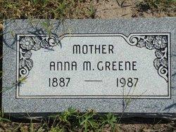 Anna M Greene
