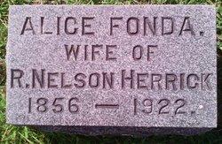 Alice <i>Fonda</i> Herrick