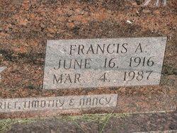 Francis A Albert
