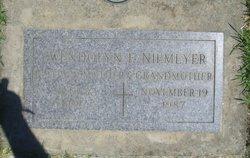 Gwendolyn Frances <i>French</i> Niemeyer
