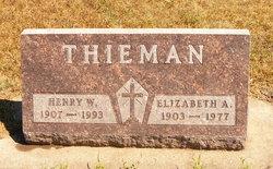 Elizabeth Agnes <i>Matthews</i> Thieman