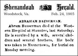 Abraham Bauserman