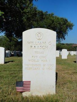 William G Raasch