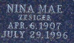 Nina Mae <i>Zesiger</i> Bruns