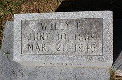 Wiley P Thornton
