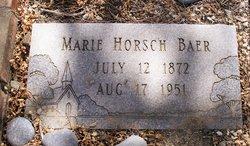 Marie <i>Horsch</i> Baer