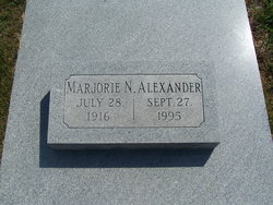 Marjorie Eileen <i>Nanson</i> Alexander