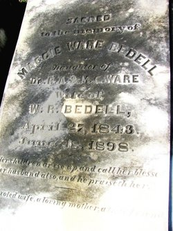 Margaret Maggie Louise <i>Ware</i> Bedell
