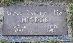Glyde Caroline <i>Fox</i> Higdon