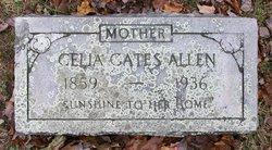 Celia <i>Gates</i> Allen
