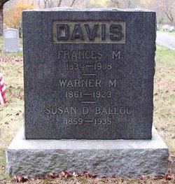 Susan <i>Davis</i> Ballou