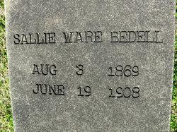Sallie <i>Ware</i> Bedell