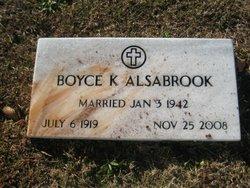 Boyce Kathryn <i>Saxon</i> Alsobrook