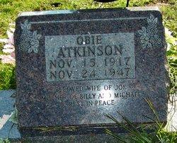 Obie <i>Faught</i> Atkinson