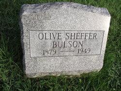 Olive <i>Sheffer</i> Bulson
