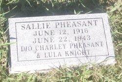 Sallie Pheasant