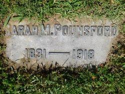 Sarah M <i>Graham</i> Pounsford