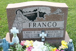 Larry Paul Franco, Sr