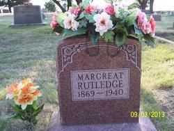 Margaret Catherine Elenor <i>Green</i> Rutledge