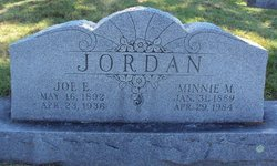Joe E Jordan