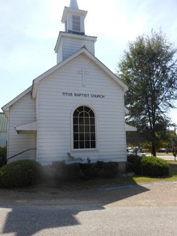 First Baptist Church of Titus Cemetery