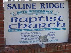 Saline Ridge Cemetery