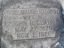 Annie Maude <i>Harwell</i> Clark