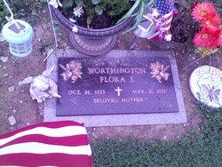 Flora J. <i>Worthington</i> Benjamin