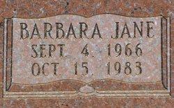 Barbara Jane Dusing