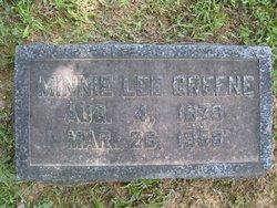 Minnie O. <i>Lee</i> Greene