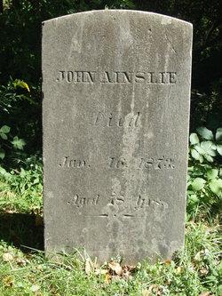 John Ainslie