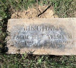 Velma Maude <i>Hart</i> Bingham