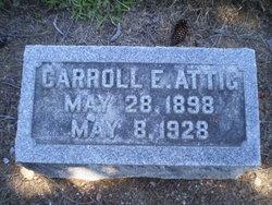 Carroll E. Attig
