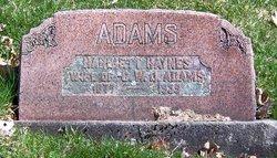 Harriet <i>Haynes</i> Adams