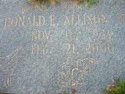 Donald E Allison