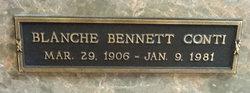 Blanche <i>Bennett</i> Conti