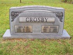 Mary Edna <i>Brooks</i> Crosby