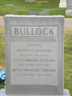 Lucy Caroline <i>Clayton</i> Bullock