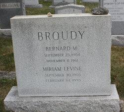 Miriam <i>Levine</i> Broudy