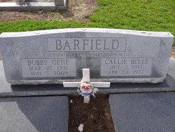Callie Belle <i>Hathcock</i> Barfield
