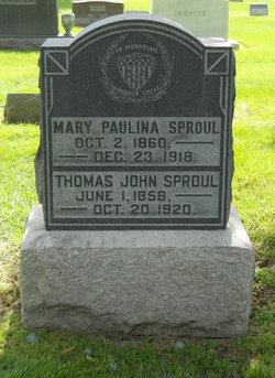 Thomas John T.J. Sproul