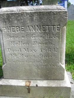 Phebe Annette Brown